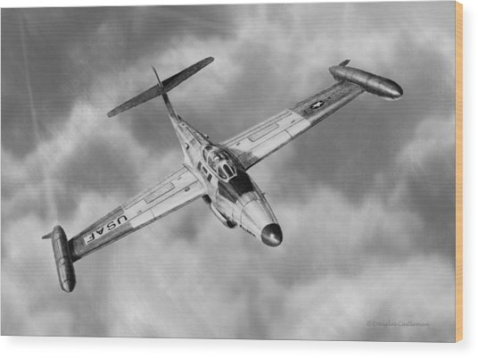 Northrop F-89 Scorpion Wood Print