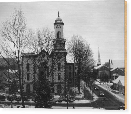 Northumberland County Courthouse Sunbury Pennsylvania  Wood Print