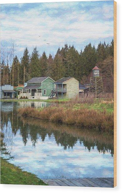 Nostalgia - Hope Valley Art Wood Print