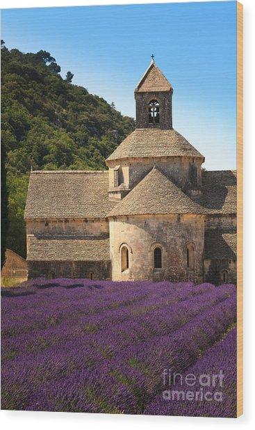 Notre-dame De Senanque  Abbey Provence France Wood Print