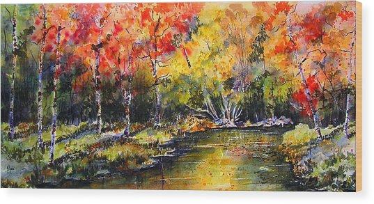 Nova Scotia Wood Print