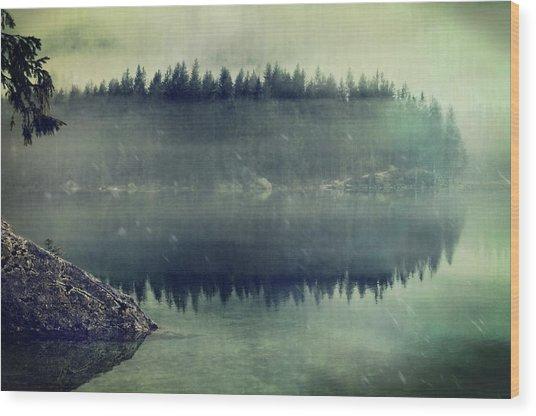 November Afternoon Wood Print