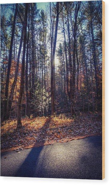 November Light Wood Print