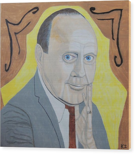 Now Cut That Out. Jack Benny. Wood Print