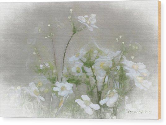 Nuage Blanc Wood Print