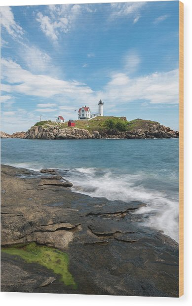 Nubble Light IIi Wood Print