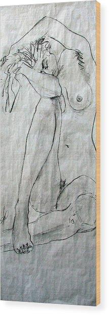 Nude 4749 Wood Print
