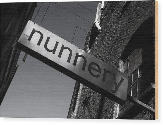 Nunnery 1 Wood Print by Jez C Self