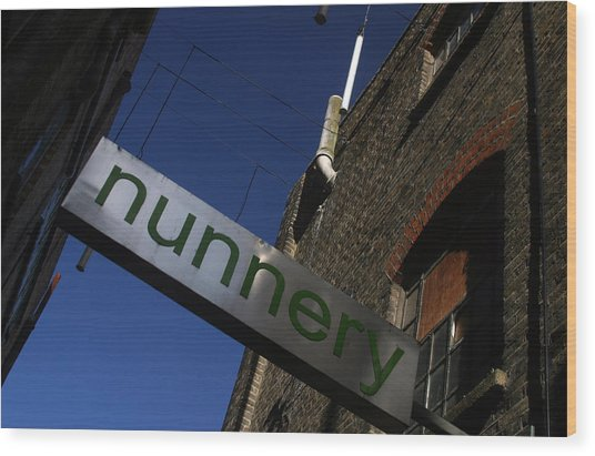 Nunnery 2 Wood Print by Jez C Self