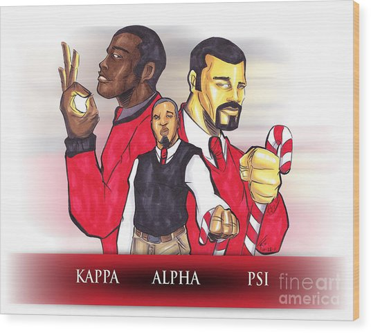 Nupes R' Us Wood Print