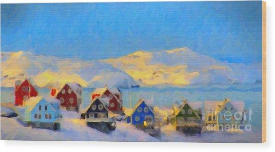 Nuuk, Greenland Wood Print