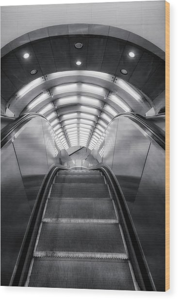 Wood Print featuring the photograph Nyc Subway Station by Susan Candelario