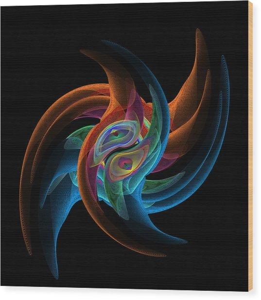 Nyse Ticker Symbol Syy Daily  Wood Print