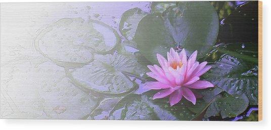 Nz Lily Wood Print