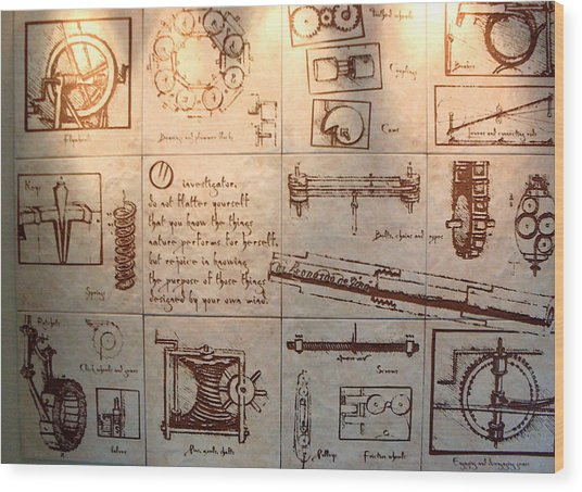 O Investigator Wood Print
