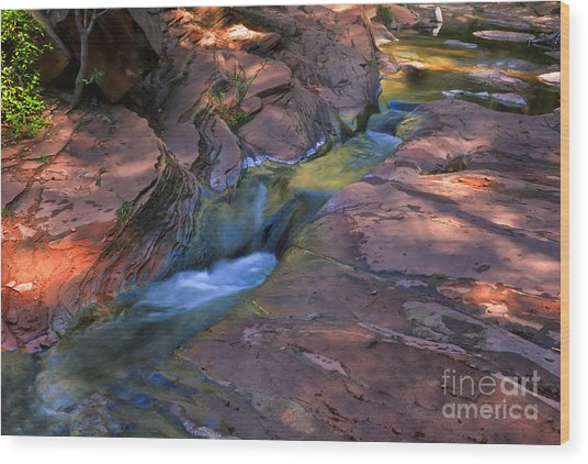 Oak Creek Canyon Splendor Wood Print