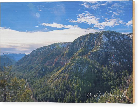 Oak Creek Vista Wood Print