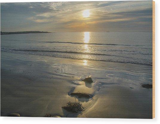 Oak Neck Beach - Kennebunkport Maine Wood Print
