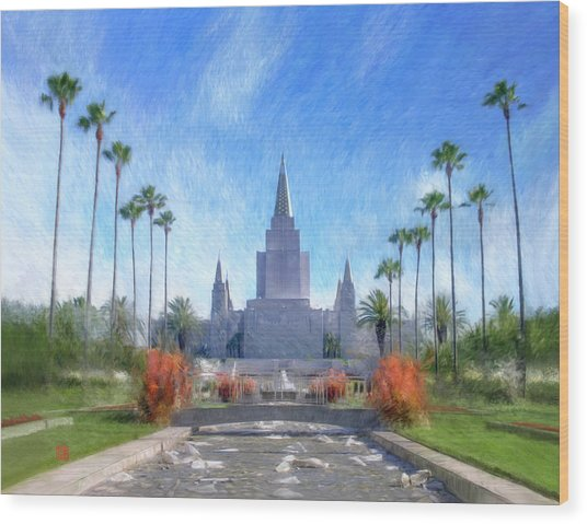 Oakland Temple No. 1 Wood Print