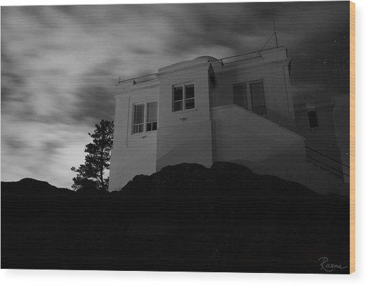 Observatory Dawn Wood Print
