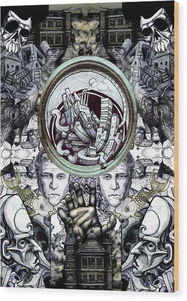 Obsessive Compulsion Wood Print by John Baker