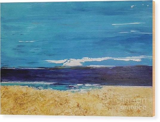 Ocean 1 Wood Print
