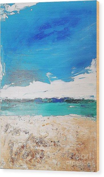 Ocean 6 Wood Print