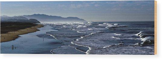 Ocean Beach San Francisco Wood Print