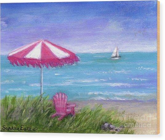 Ocean Breeze Wood Print