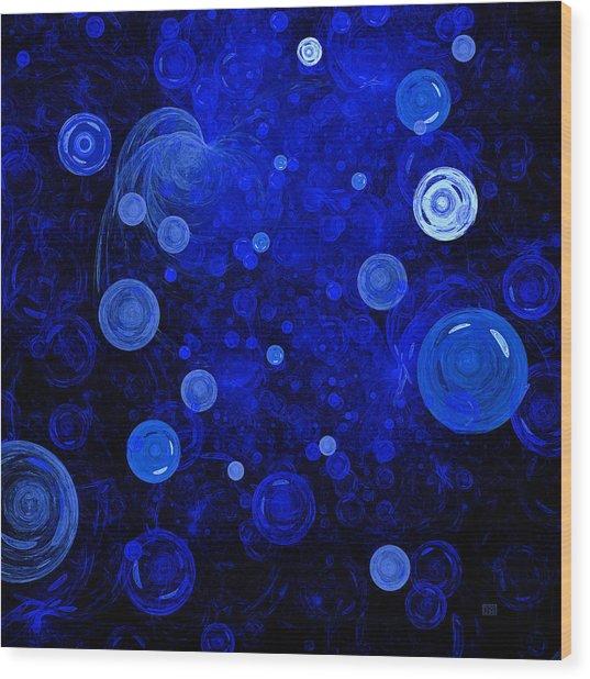 Ocean Gems Wood Print by Menega Sabidussi