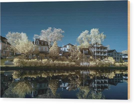 Ocean Grove Nj Wood Print