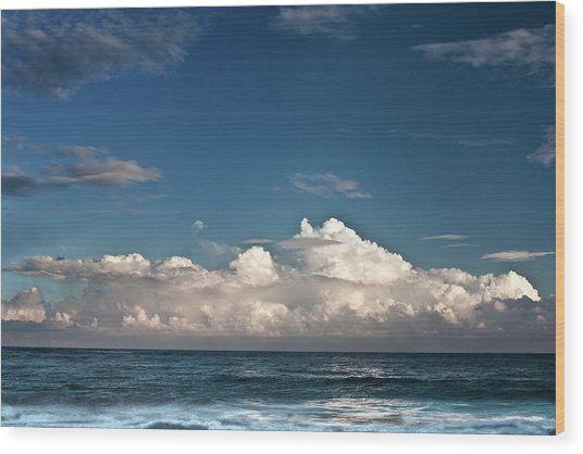 Ocean Horizon Wood Print