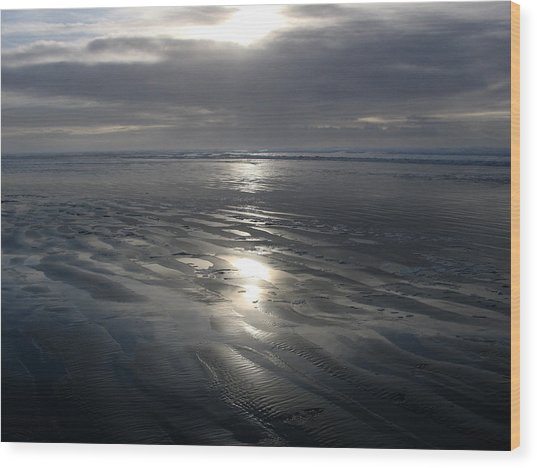 Ocean Shores  Wood Print by Ty Nichols