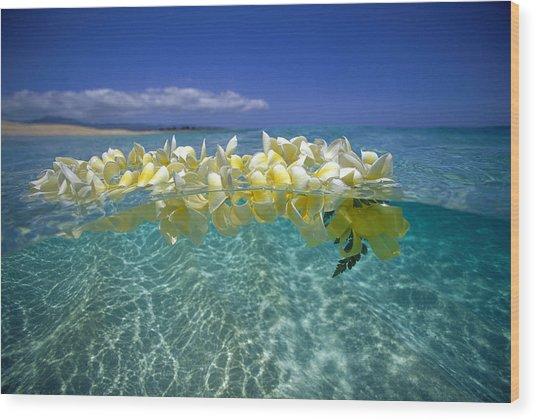 Ocean Surface Wood Print