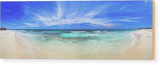 Ocean Tranquility, Yanchep Wood Print