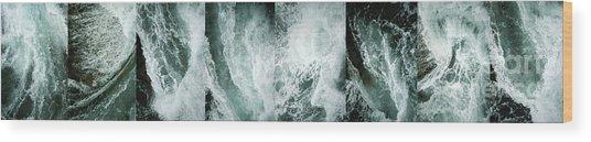Ocean Waves - Ocean Waves - Ocean Waves.... Wood Print