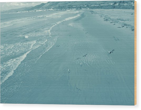 Oceans Call Wood Print by JAMART Photography
