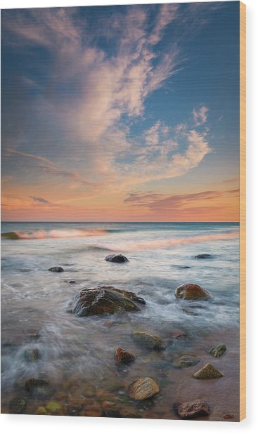 Ocean's Jewels Wood Print
