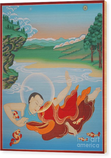 Odren Pelgi Wangchuk Wood Print
