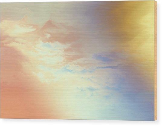 Of Heaven Wood Print