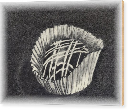 Oh Chocolate Wood Print by Penny Everhart