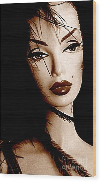 Oh What A Doll Wood Print