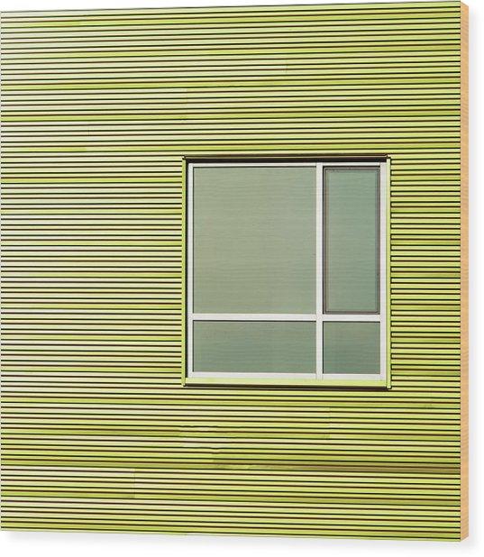 Ohio Windows 1 Wood Print