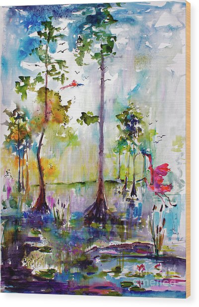 Okefenokee Wild Free And Peaceful Wood Print