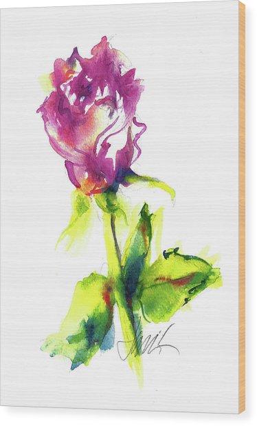 Old Blush - Rose Wood Print