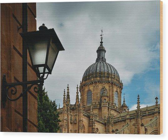 Old Cathedral, Salamanca, Spain  Wood Print