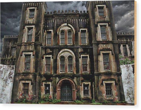 Old City Jail Wood Print