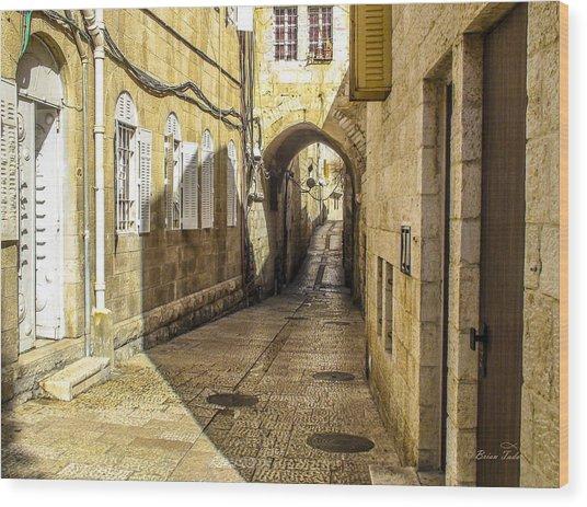 Shabbat Day Of Rest Jerusalem Israel Wood Print