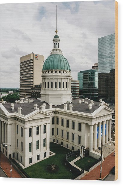 Old Courthouse - St. Louis, Mo Wood Print by Dylan Murphy