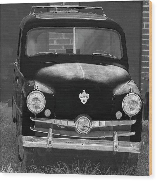 Old Crosley Motor Car Wood Print